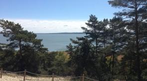 Góra Pirata - widok na Zalew