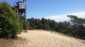 Góra Pirata - punkt obserwacji ptaków