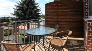 Pokój Ewelci - balkon